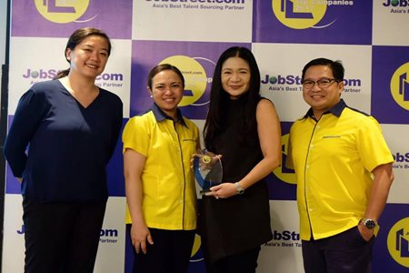 ABS-CBN IN JOBSTREET'S 2017 TOP 10 COMPANIES TO WORK FOR SURVEY