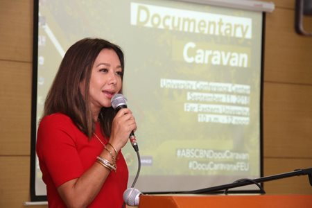 BUDDING JOURNALISTS GETS HANDS-ON EXPERIENCE IN ABS-CBN DOCU CARAVAN